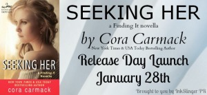 Seeking Her Release Day Launch Banner